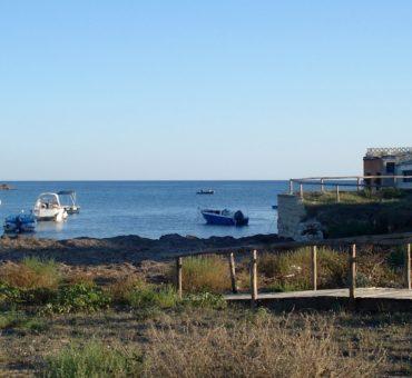 W rybackiej wiosce Torre Colimena