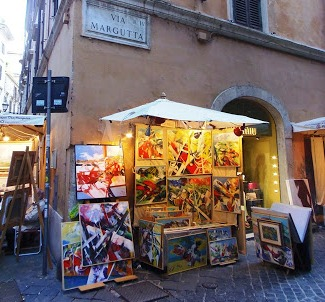 Artystyczna Via Margutta w Wiecznym Mieście