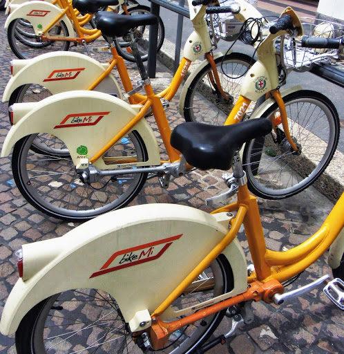 BikeMi – rowerem po Mediolanie