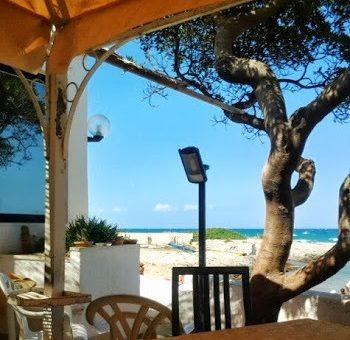 Restauracja nad brzegiem morza, w Villanova. Dziennik apulijski cz.4