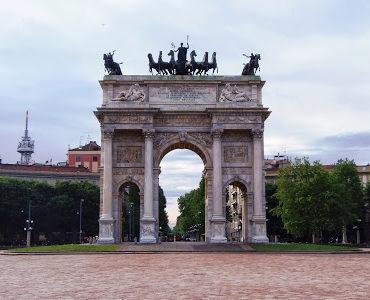 Tropem Napoleona... w Mediolanie