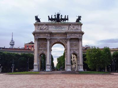 Tropem Napoleona… w Mediolanie