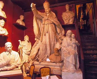 Rzymskie cuda: kawiarnia w atelier Canovy