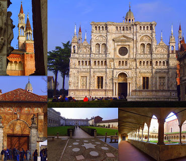 Certosa di Pavia - chluba rodu Viscontich