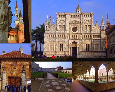 Certosa di Pavia – chluba rodu Viscontich