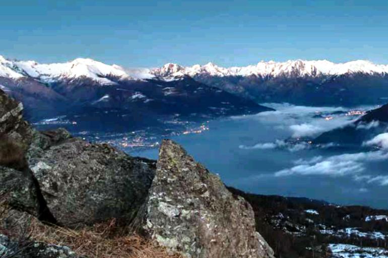 Como z widokiem na Alpy