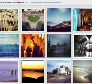 Autostrada Słońca jest na Instagramie