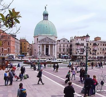 Venezia Santa Lucia: pierwsze chwile w Wenecji