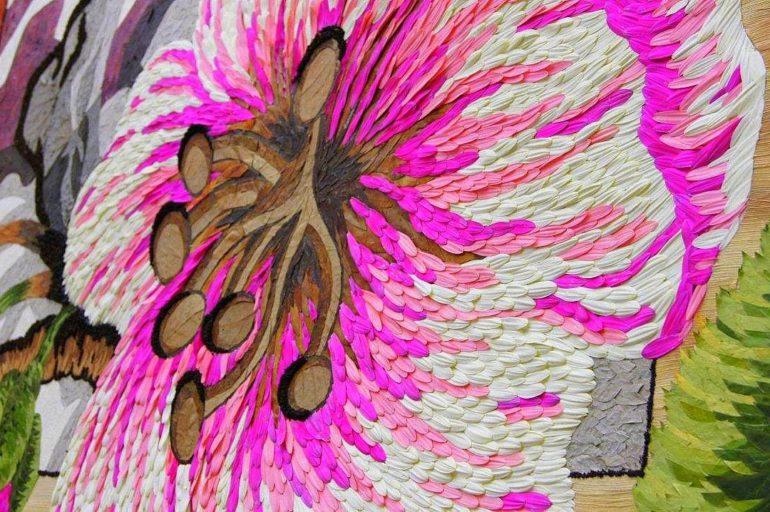 Kwiatowe dzieła sztuki w Acquapendente