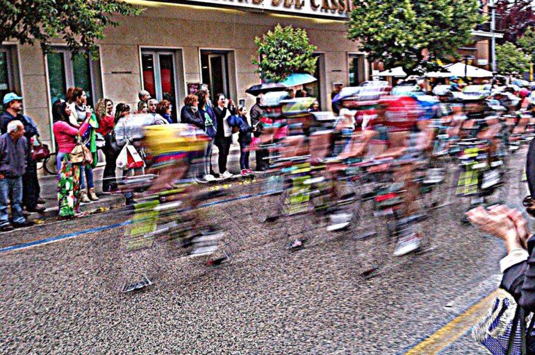 Giro d'Italia na Monte Cassino