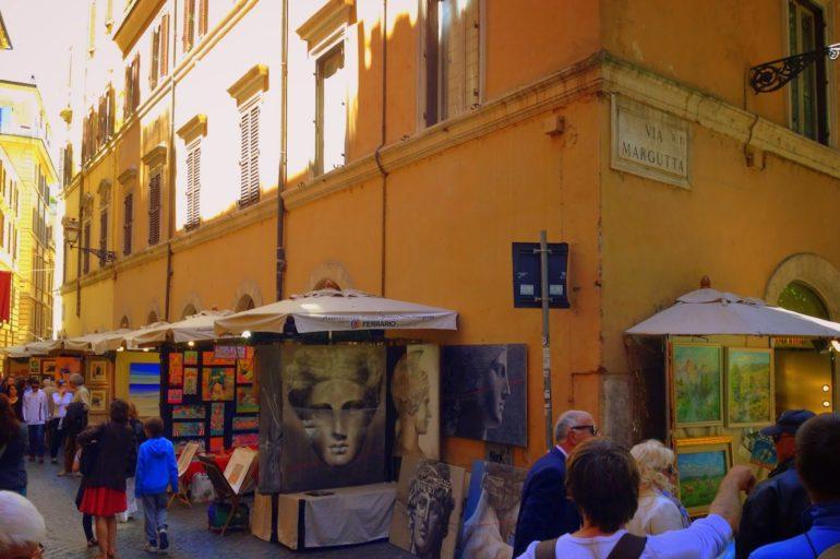 Rzymska Via Margutta: śladem Audrey Hepburn