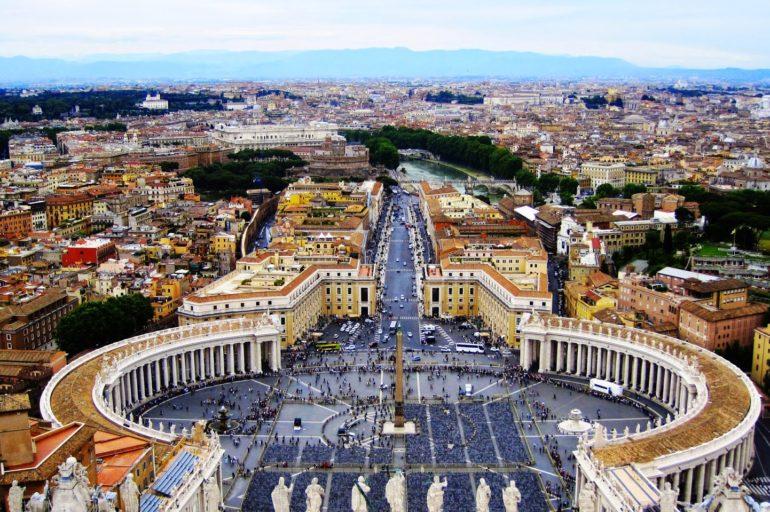Spojrzeć na Rzym tak po prostu z góry