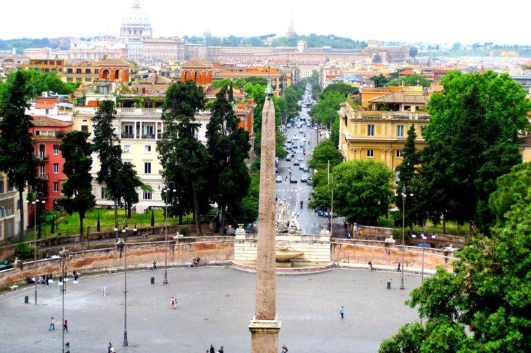 Rzymskie tarasy widokowe: Pincio