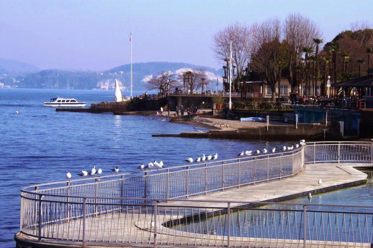 Stresa nad Jeziorem Maggiore, o której pisał Hemingway