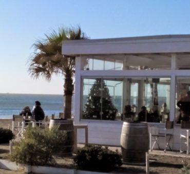 Świątecznie, na rzymskiej plaży