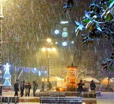 Biały koniec roku we włoskiej Apulii