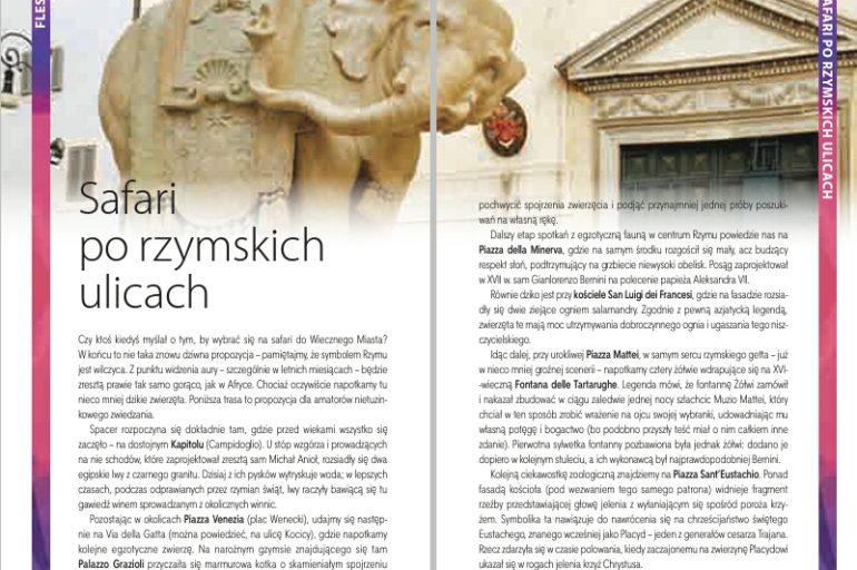 Moje blogowe wpisy w przewodniku Pascala o Rzymie