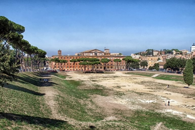 Anegdoty o miejscach znanych: Circus Maximus