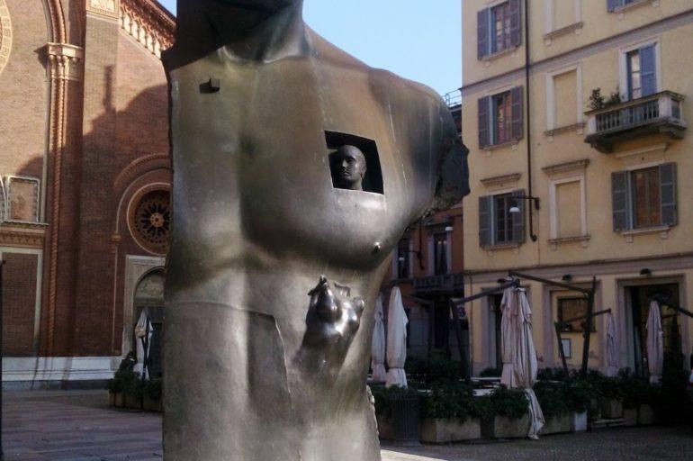 Polskie ślady w Mediolanie: Igor Mitoraj