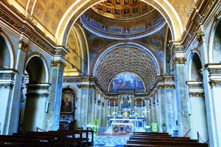 Złudzenie optyczne w kościele San Satiro