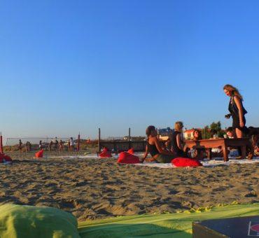 Pożegnanie lata – na plaży w Rzymie