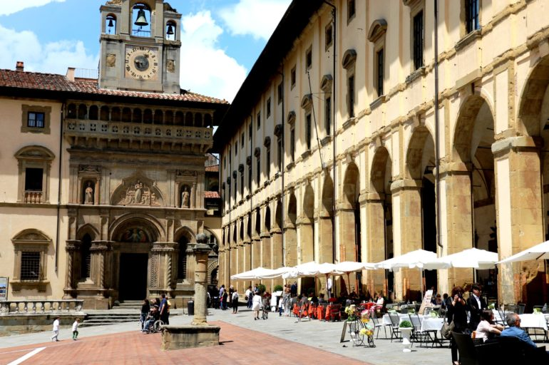 Życie jest piękne w Arezzo