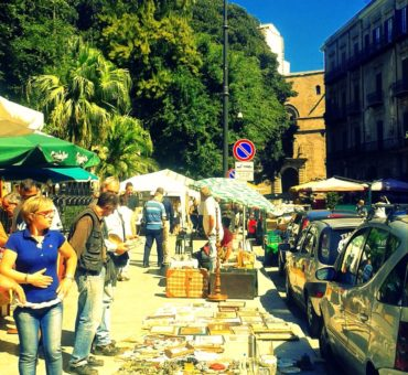 Pchli targ w Palermo
