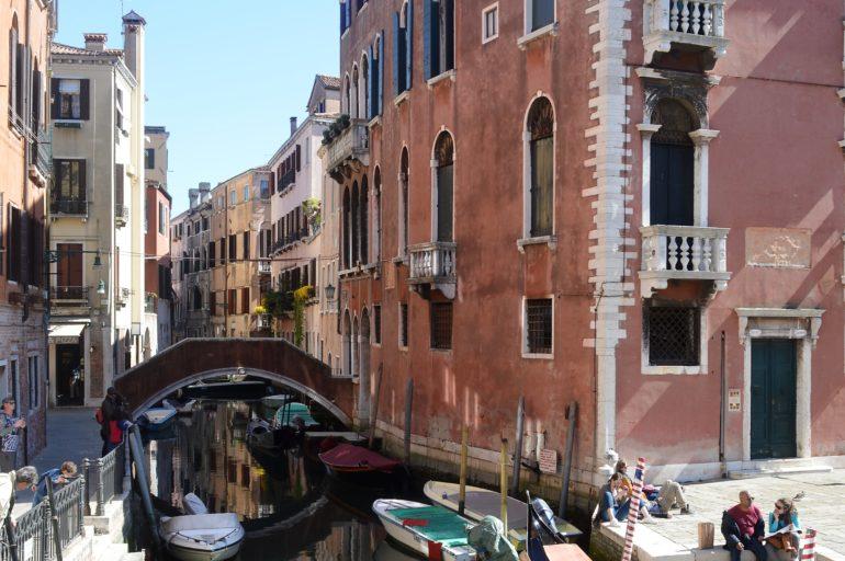 Trasa na niedzielny poranek w Wenecji