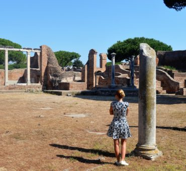 Wykopaliska w Ostia Antica - w moich oczach