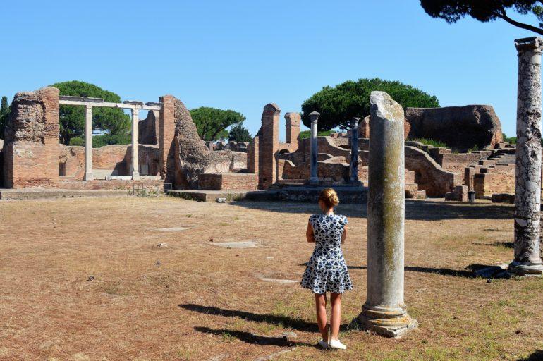 Wykopaliska w Ostia Antica – w moich oczach