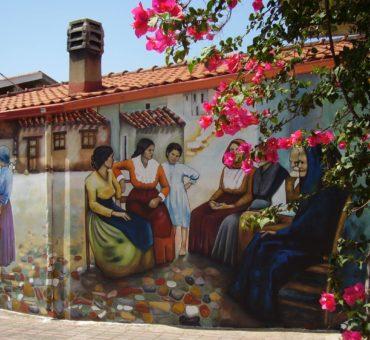 Murale na Sardynii: historia wyspy malowana na murach