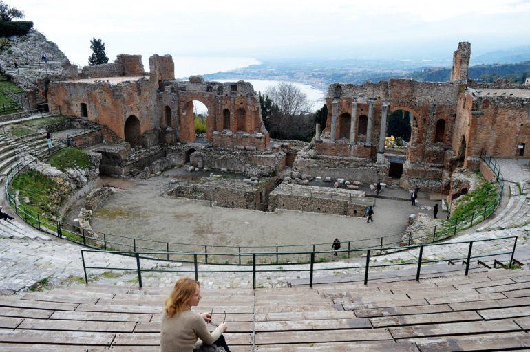 Antyczny teatr w Taorminie