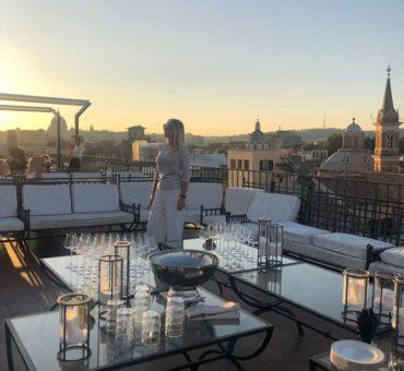 Sky bar w Rzymie? Mój typ to Tarrazza Borromini